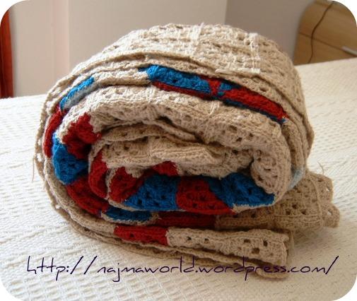 Crochet patchwork tejuca labores de najma - Como hacer mantas de patchwork ...