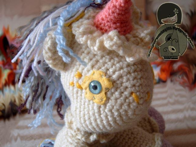 unicornio crochet amigurumi ganchillo venta sell Labores ...