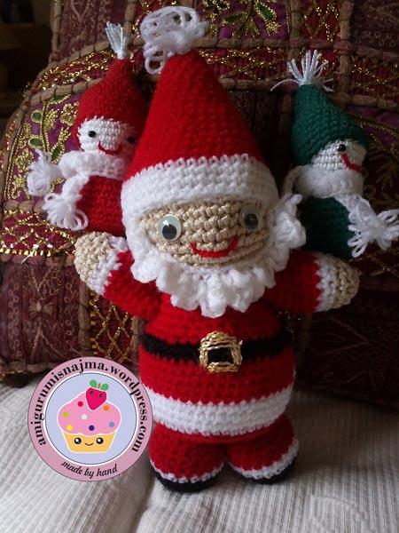 Noel christmas amigurumi santa claus najma