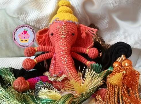 ganesha ganapati crochet amigurumi hindu