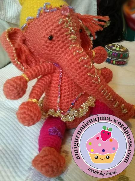 ganesha amigurumis najma crochet yarn