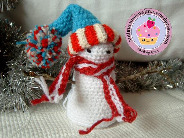 snowman crochet najma