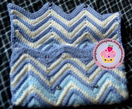 clutch crochet najma ganchillo