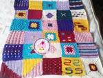 najma crochet blanket manta ganchillo