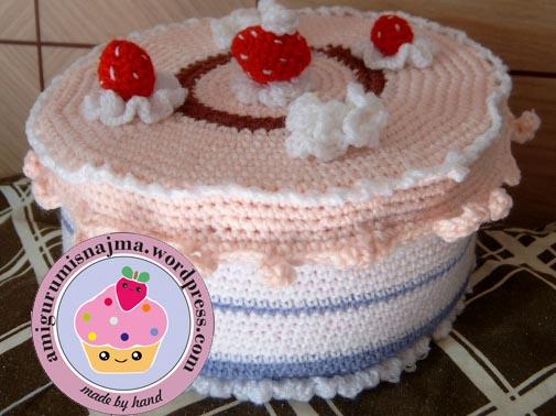 tarta crochet amigurumi najma