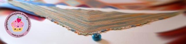 shawl tricot knitting 22.5 Degrees Martina Behm