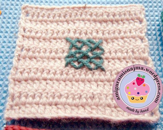 crochet granny square ganchillo