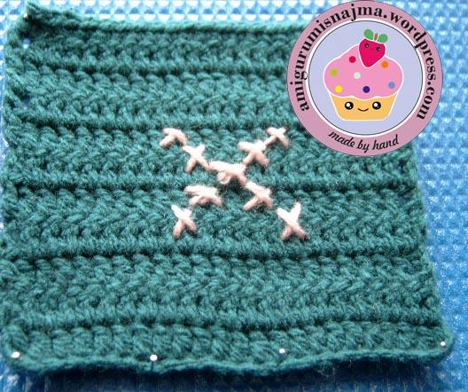 cuadro crochet granny square ganchillo