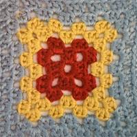 granny square crochet ganchillo CAL