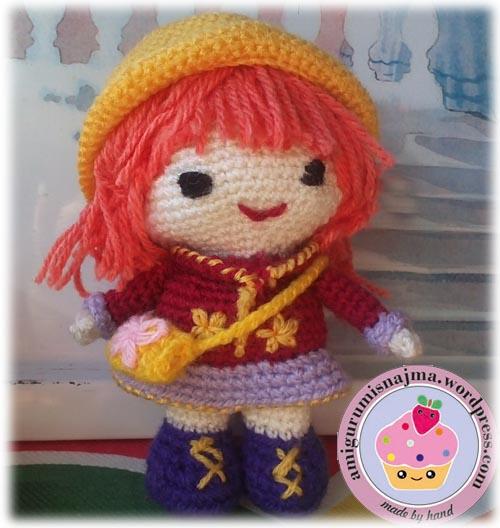 Emily amigurumi crochet