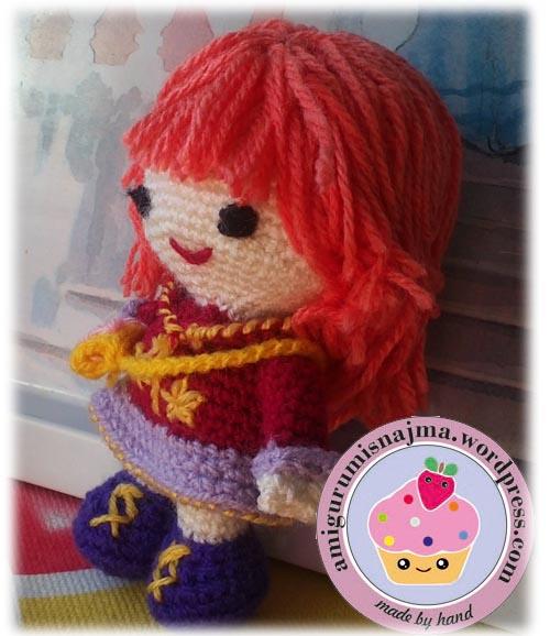 emily amigurumi crochet ganchillo