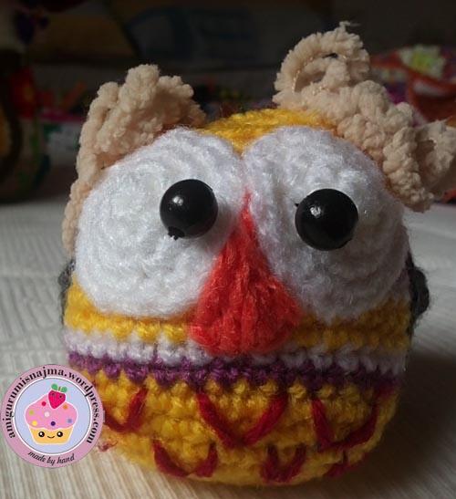buho amigurumi owl crochet