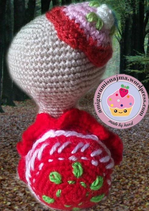 amigurumi miss turtle crochet najma