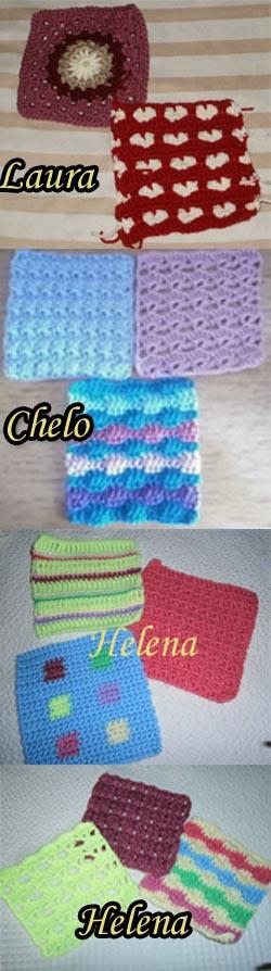 CAL granny semanal crochet ganchillo manta blanket