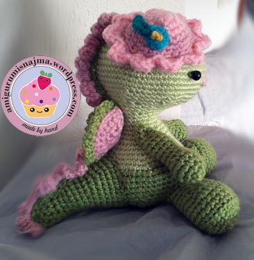 miss dragon amigurumi crochet ganchillo