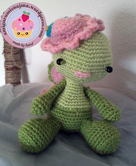 miss dragon crochet amigurumi  ganchillo