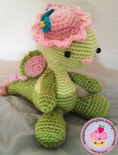 miss dragon amigurumi najma