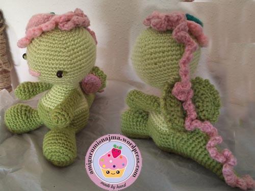 Miss dragon amigurumi Lil Sweet Dolls
