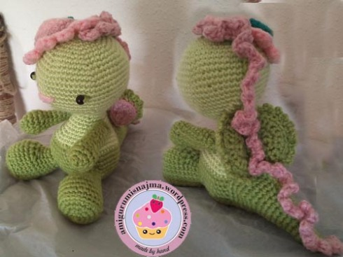 ganchillo crochet amigurumi dragon