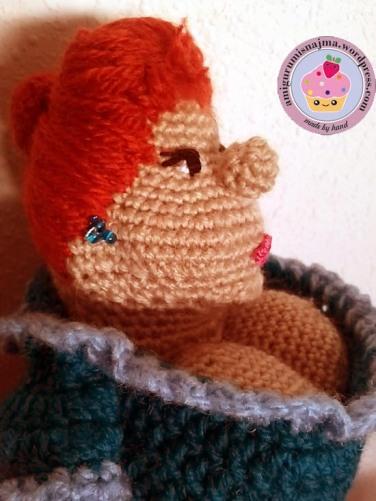 Lana - Amigurumi Doll Crochet Pattern | Handarbeit, Häkelanleitung ... | 501x376
