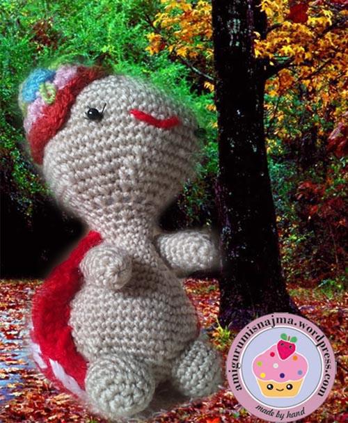 Miss Turtle amigurumi Lil Sweet Dolls