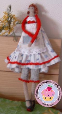 tilda doll najma amigurumi crochet ganchillo