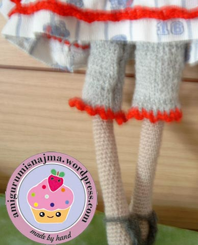 tilda crochet doll amigurumi