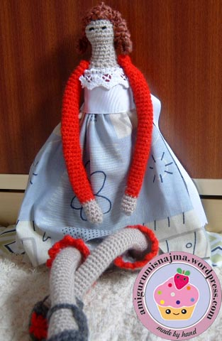 falda tilda doll crochet amigurumi najma