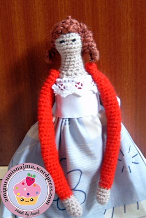 najma doll tilda crochet amigurumi
