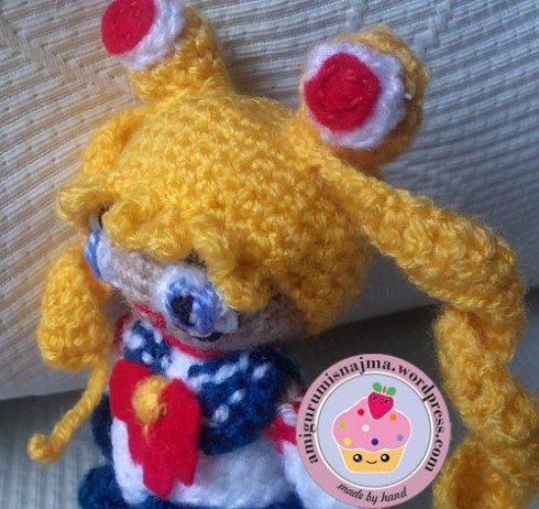 sailor moon amigurumi ganchillo