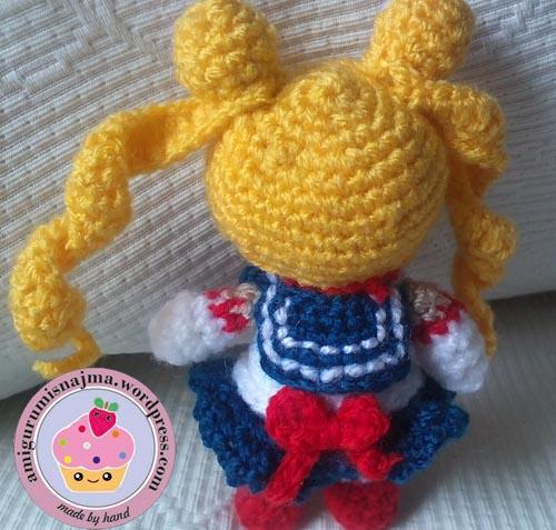 sailormoon anime amigurumi crochet najma
