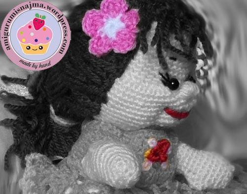 crochet russian doll ganchillo muñeca najma