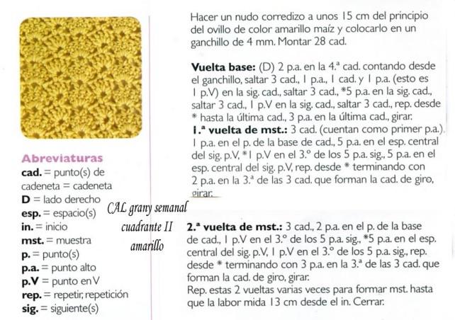 cuadrante 2 amarillo cal najma