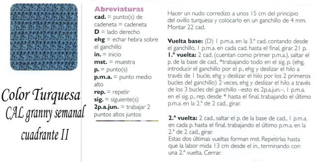 cuadrante 2 turquesa cal najma