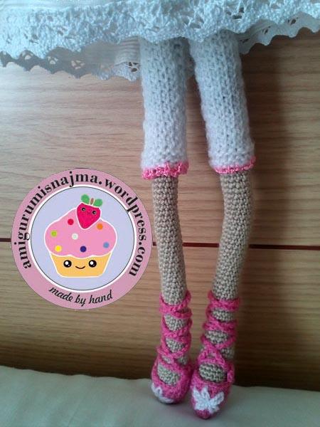 amigurumis najma tilda doll crochet ganchillo