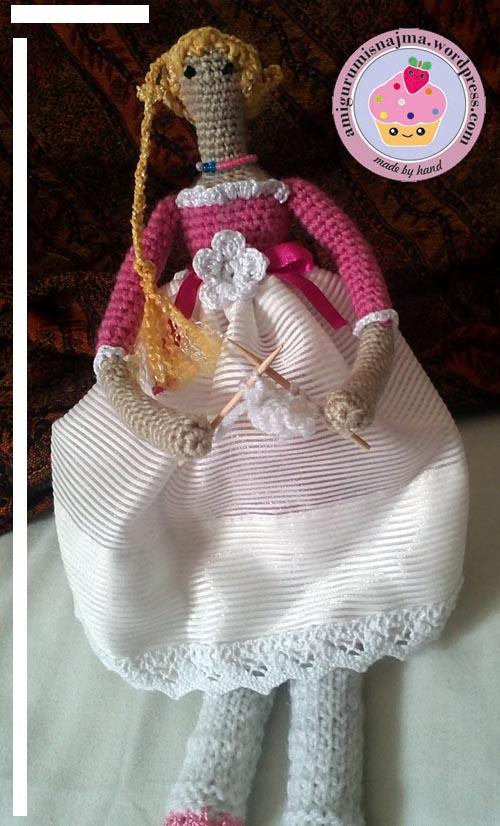 tilda amigurumi crochet ganchillo doll muñeca