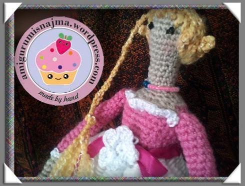 muñeca crochet ganchillo tilda