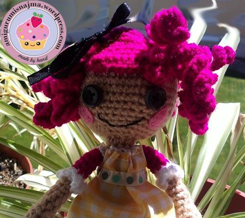 crumbs sugar cookies lalaloopsy crochet doll