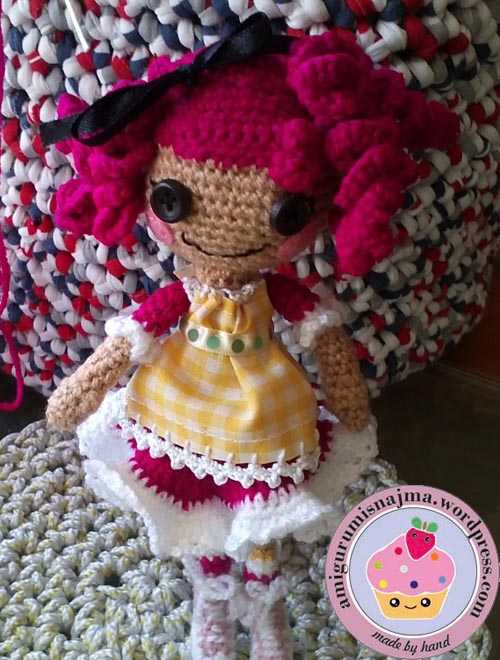 crochet doll crumbs sugar cookies lalalooopsy