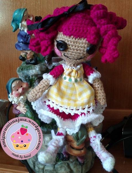crochet doll amigurumi lalaloopsy