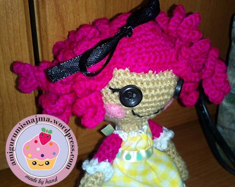 lalaloopsy crochet doll crumbs sugar cookies