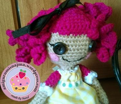 muñeca ganchillo lalaloopsy amigurumi