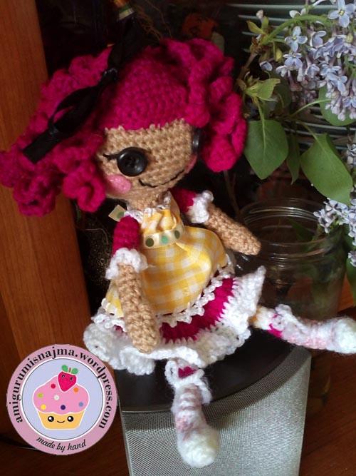 lalaloopsy crochet amigurumi doll