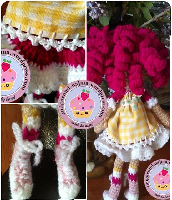 lalaloopsy crochet doll najma