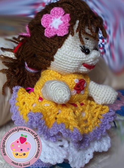 muñeca rusa doll russian najma amigurumi crochet