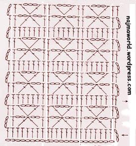 najma crochet pattern cuadrante 2 grosella