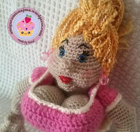ganchillo crochet amigurumi doll