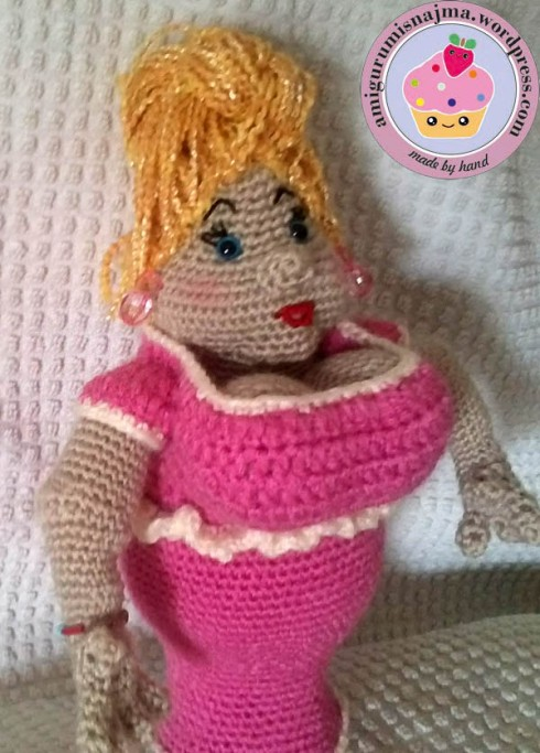 doll amigurumi crochet