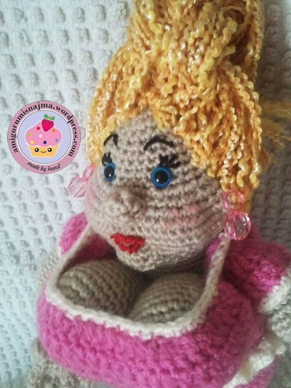 doll fat lady amigurumi crochet
