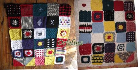crochet blanket ganchillo manta vintage